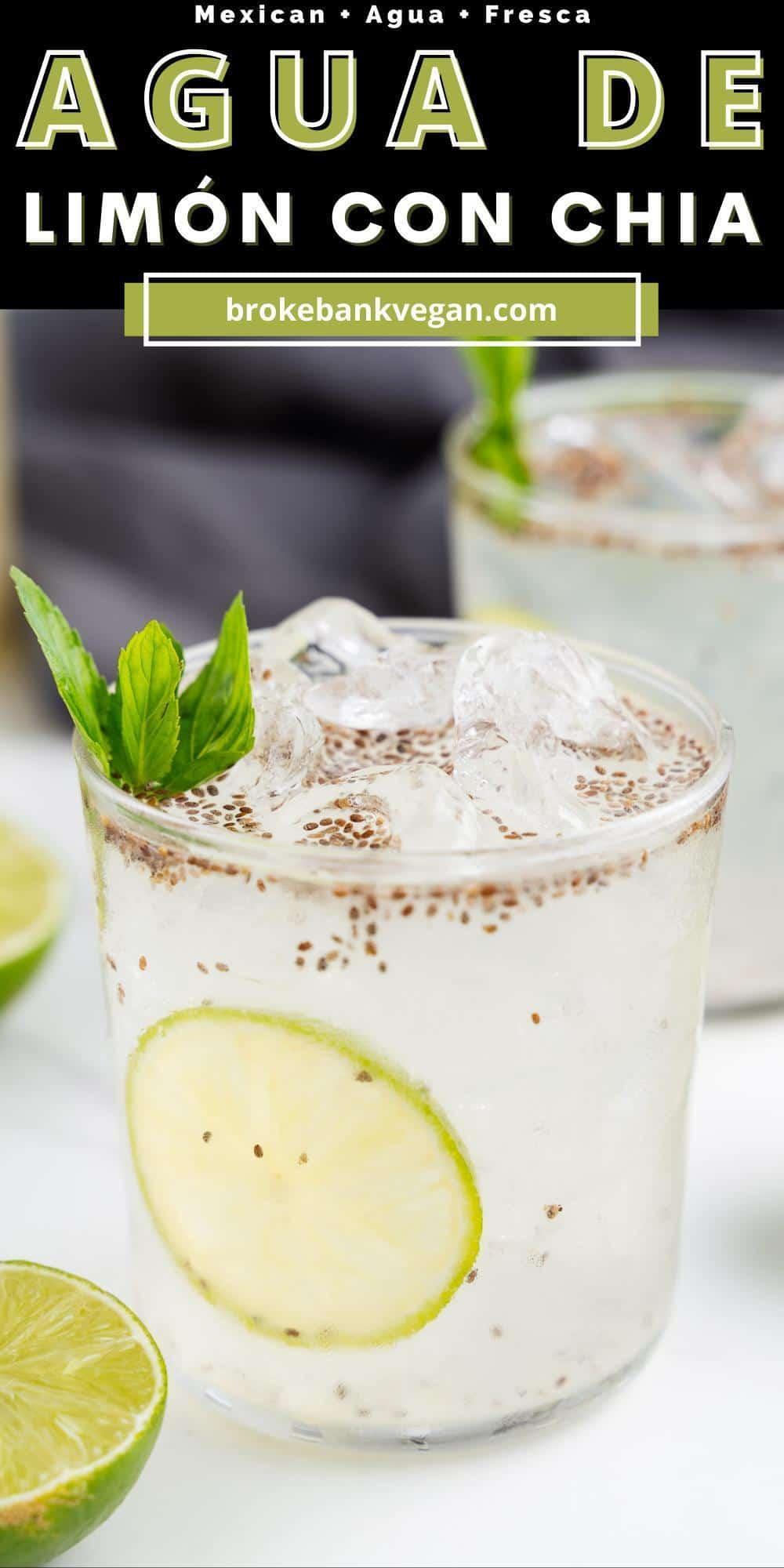 Agua de Limon Pin