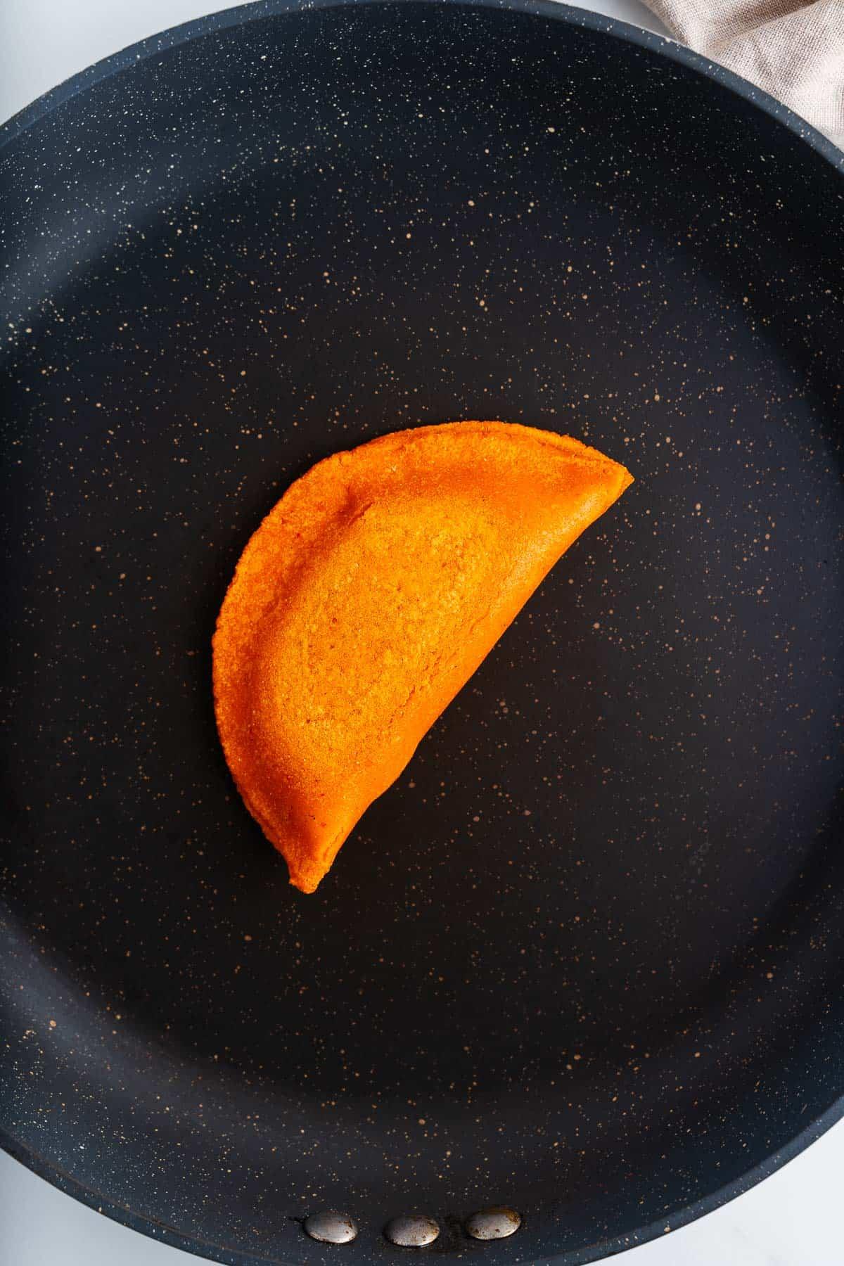 Enchilada Potosina in a Dry Skillet
