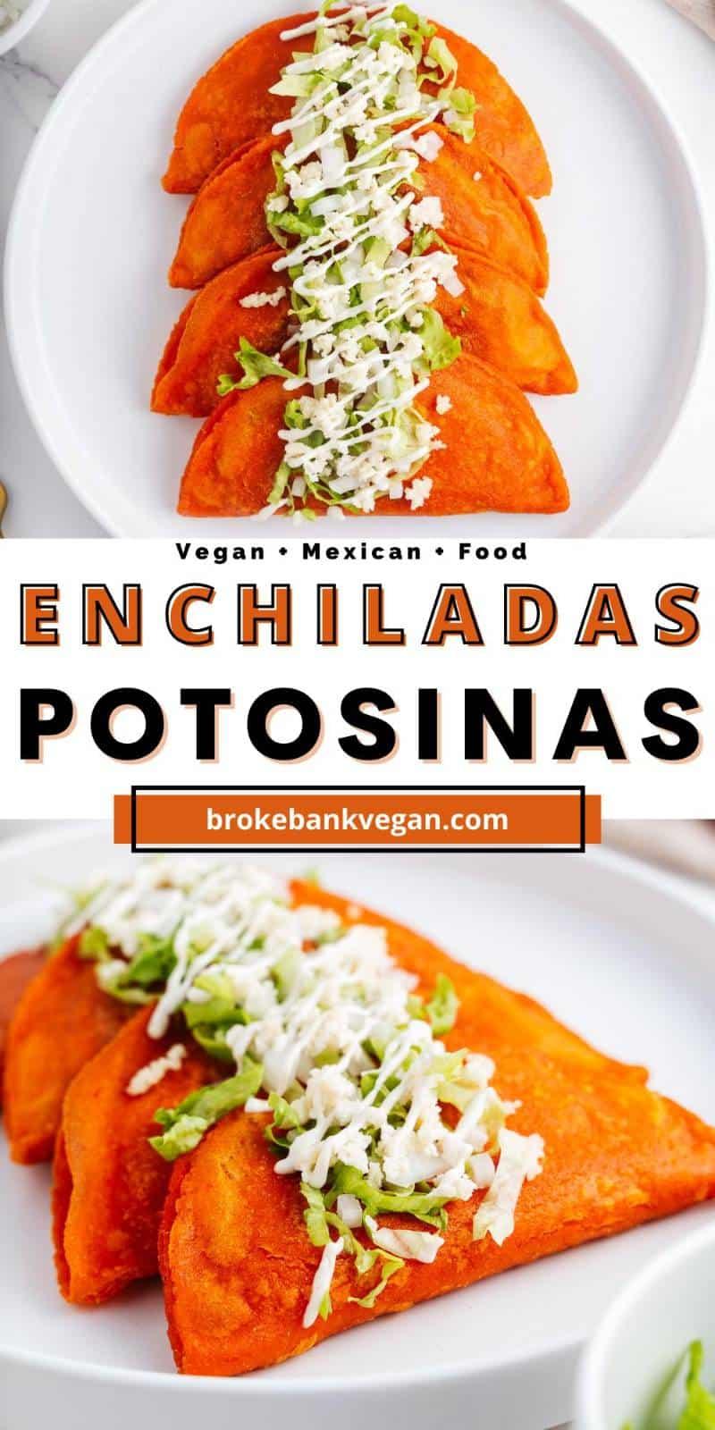 Enchiladas Potosinas Pin