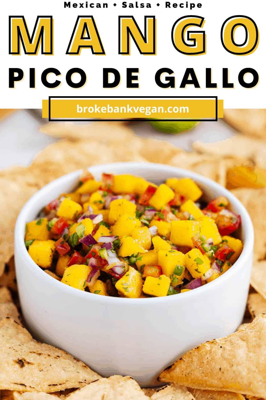 Mango Pico de Gallo Pin