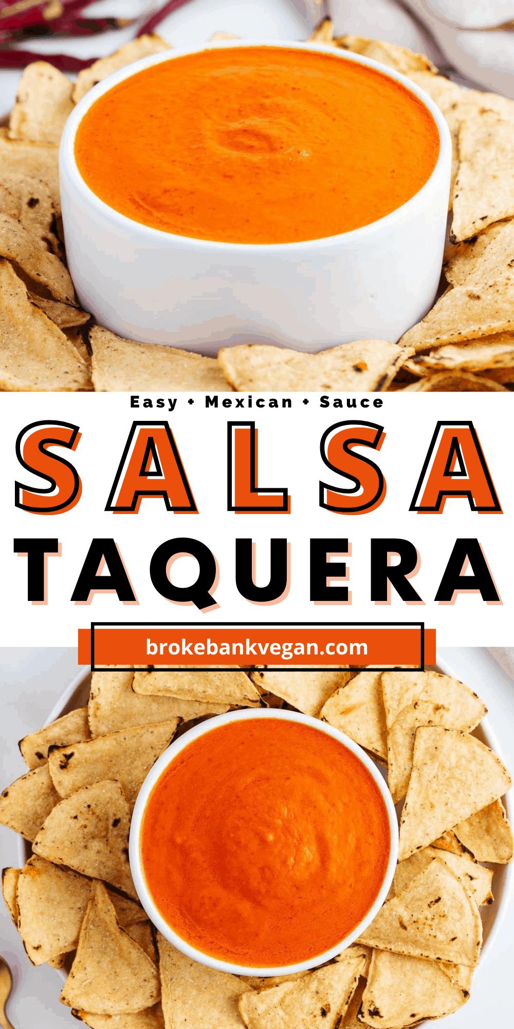 Salsa Taquera Pin
