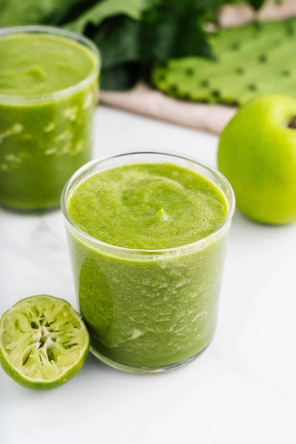 Jugo Verde in a Glass