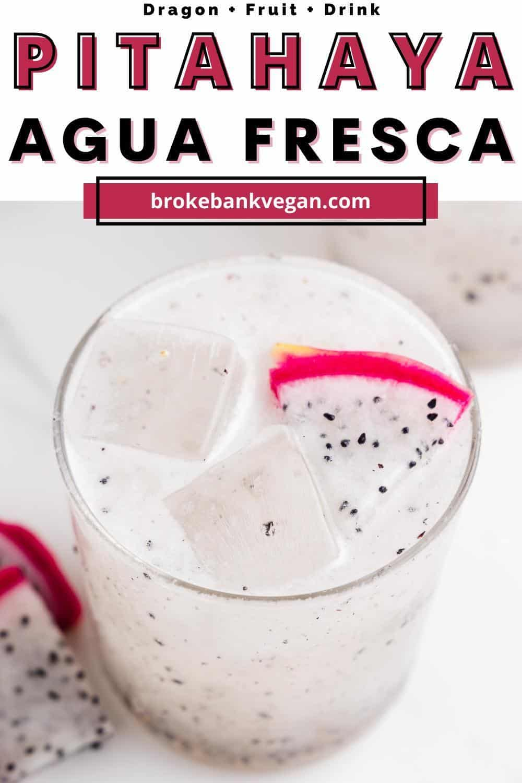Pitahaya Agua Fresca