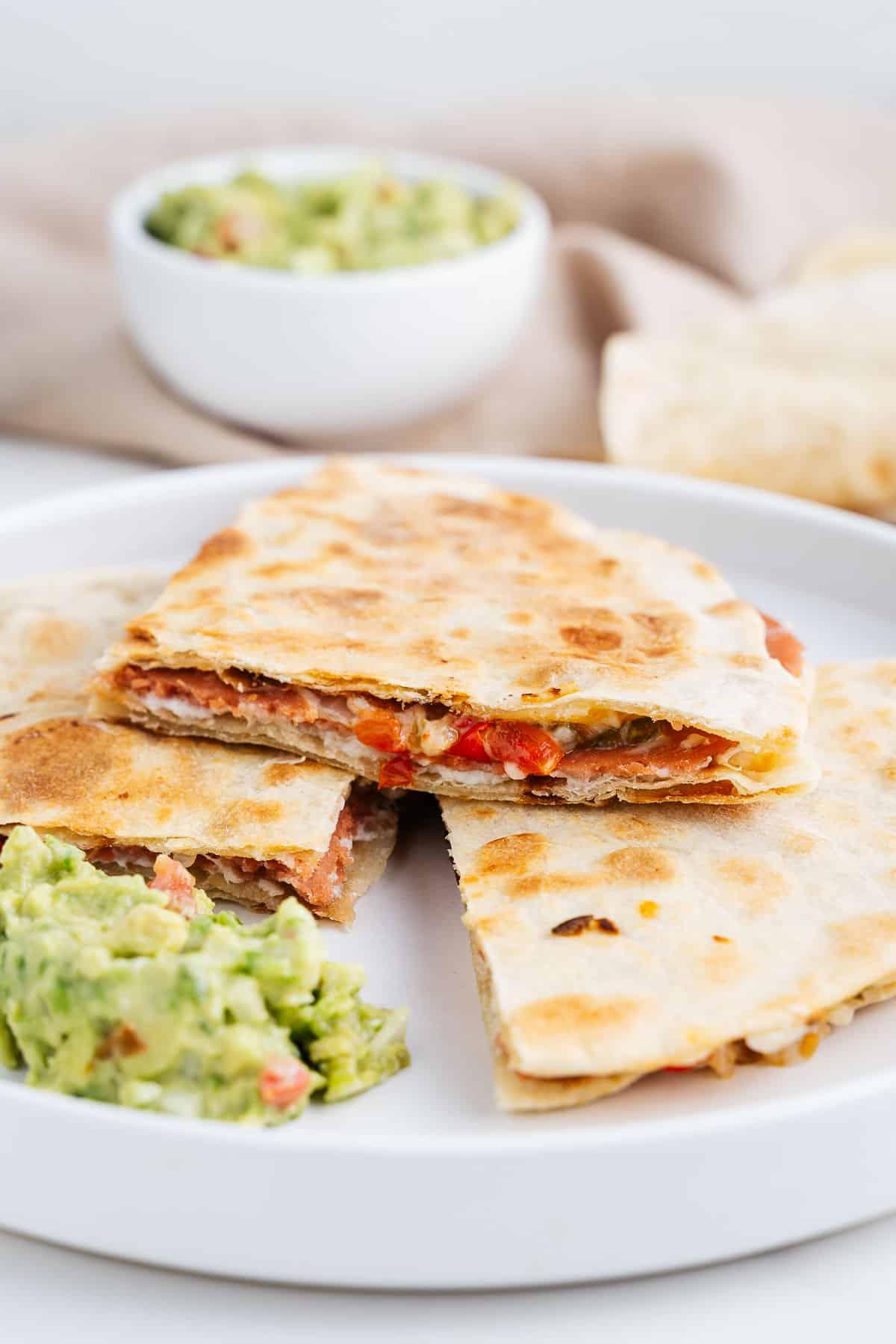 Vegan Sincronizadas With Guacamole
