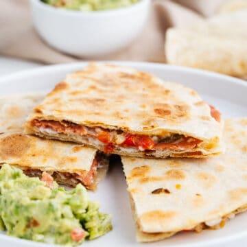 Vegan Sincronizada With Guacamole
