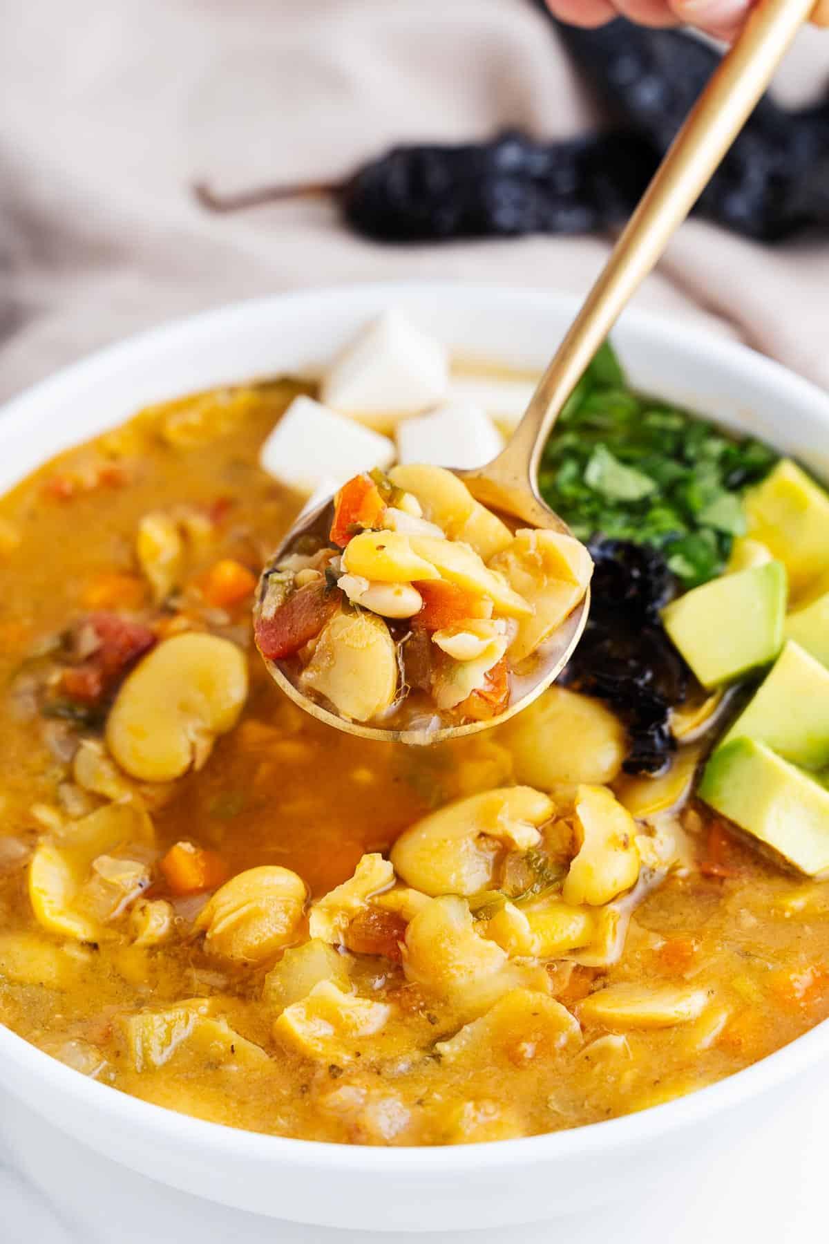 Spoonful of Sopa de Habas