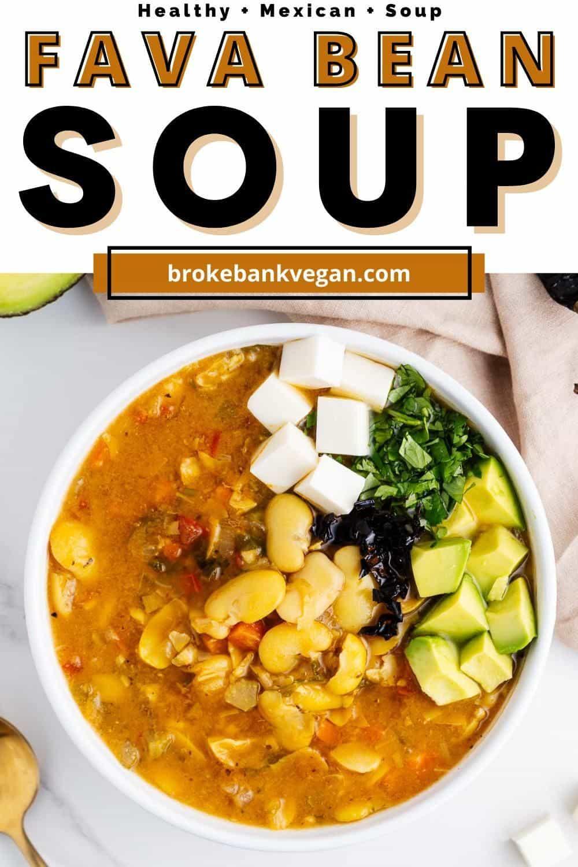 Fava Bean Soup Pin